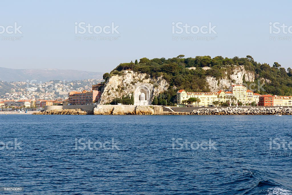 Monument aux Morts, Nice France stock photo