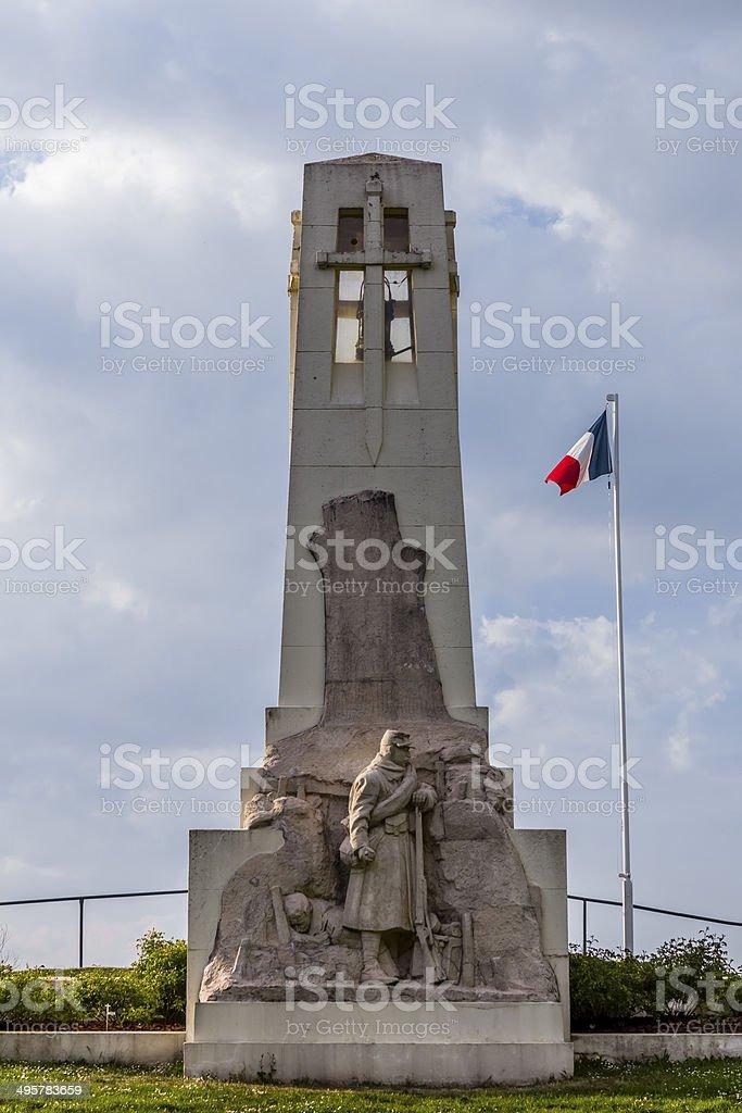 Pomnik Butte de Vauquois Francja – zdjęcie