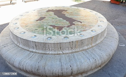 istock Monument called Umbilicus It 1286672906