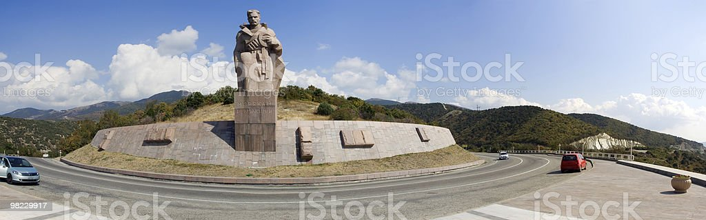 Monument for submerged ships royalty-free stock photo