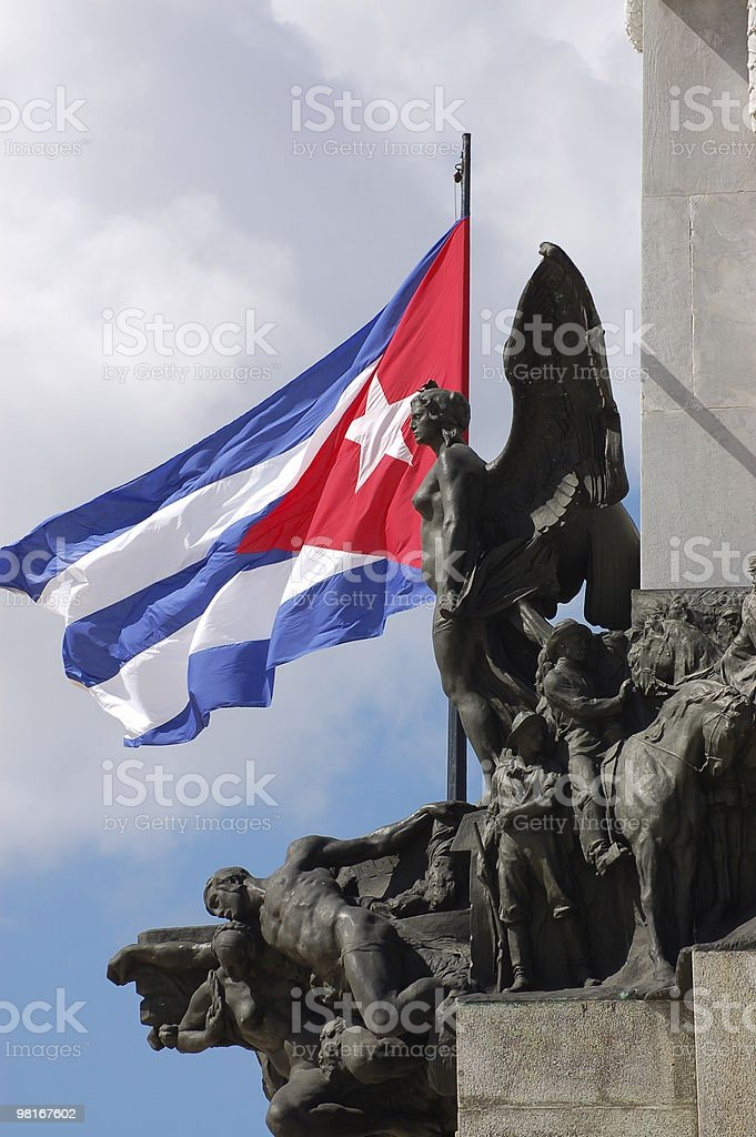 Monument, Havana, Cuba royalty-free stock photo