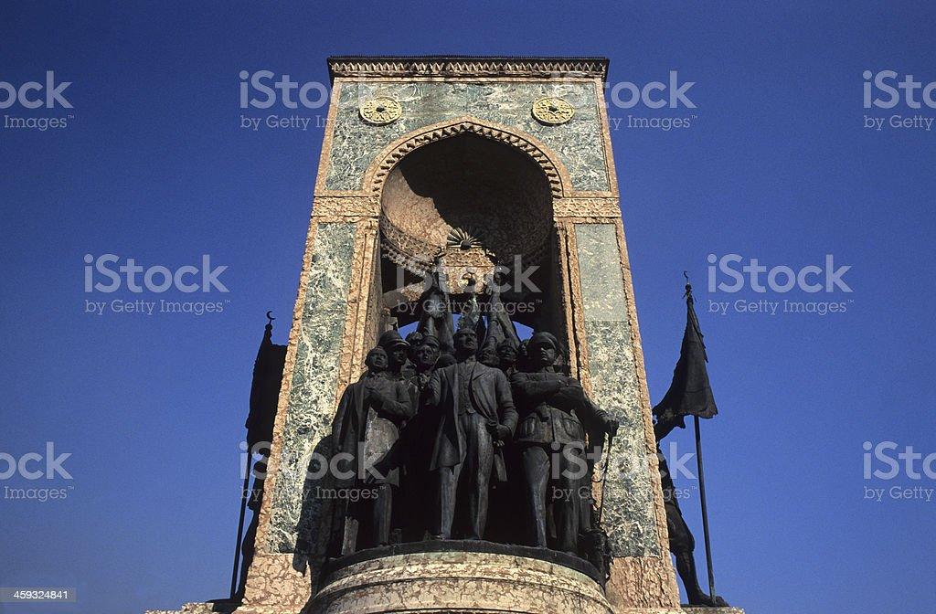 Monument of Atatürk stock photo
