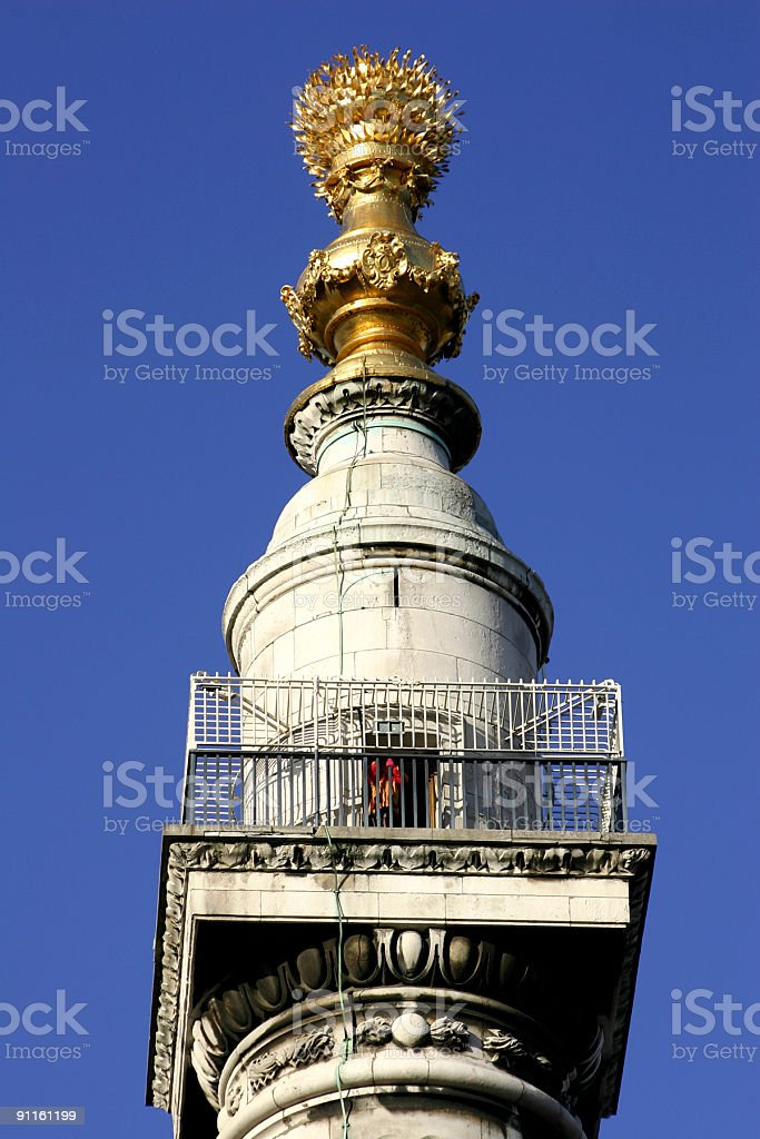 Monument of Fire royalty-free stock photo