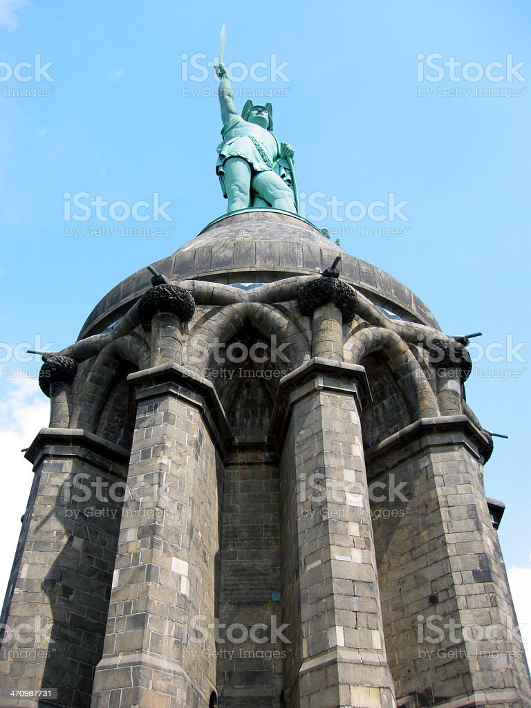 Monument of Herrmann royalty-free stock photo