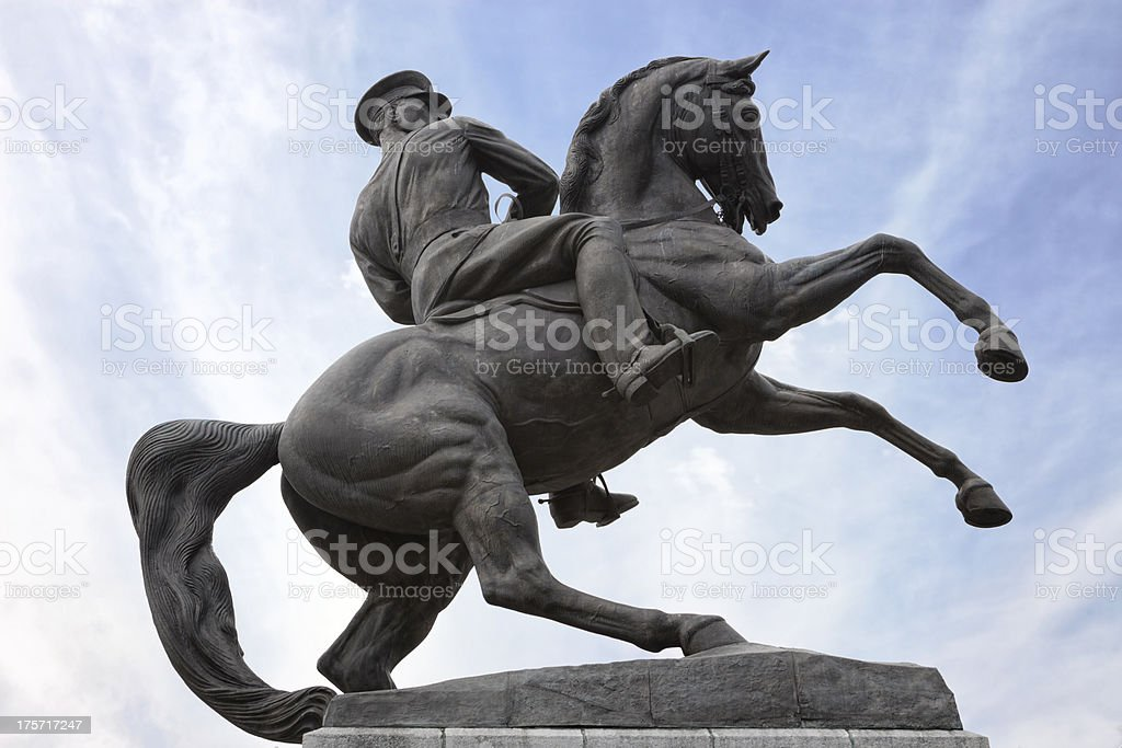 Monument Of Honor, Samsun stock photo