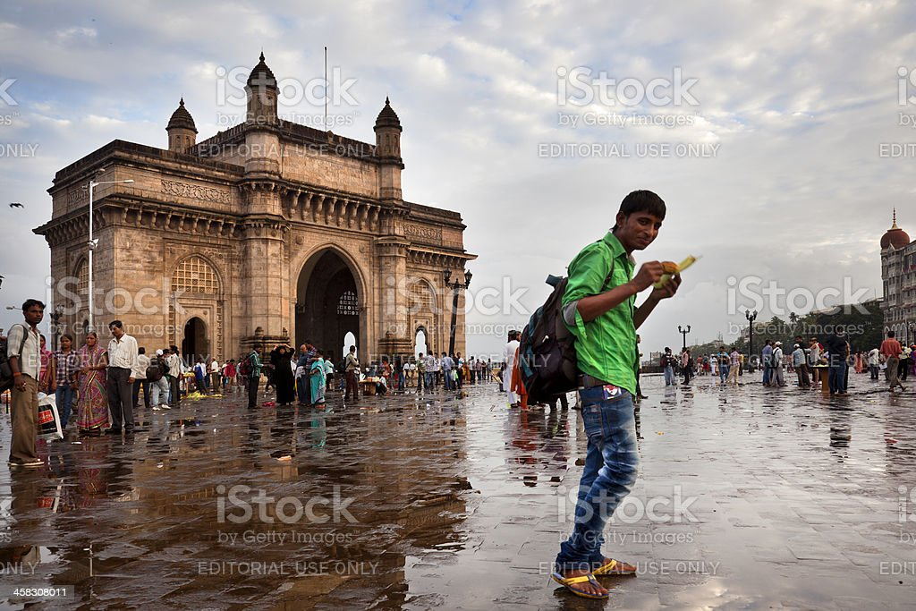 Monument of India Gate stock photo