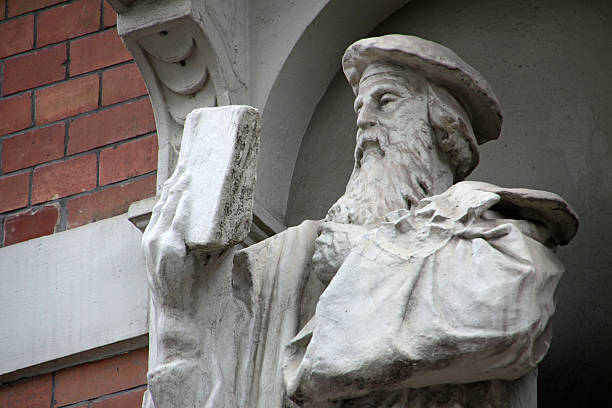 Denkmal der Johannes Gutenberg – Foto