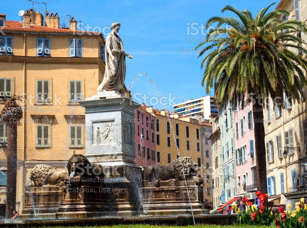 Monumento de Napoleón Bonaparte - foto de stock