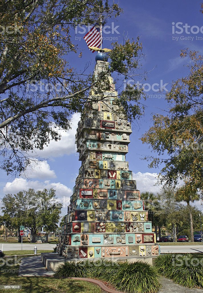 Monument of the States Kissimmee Florida stock photo