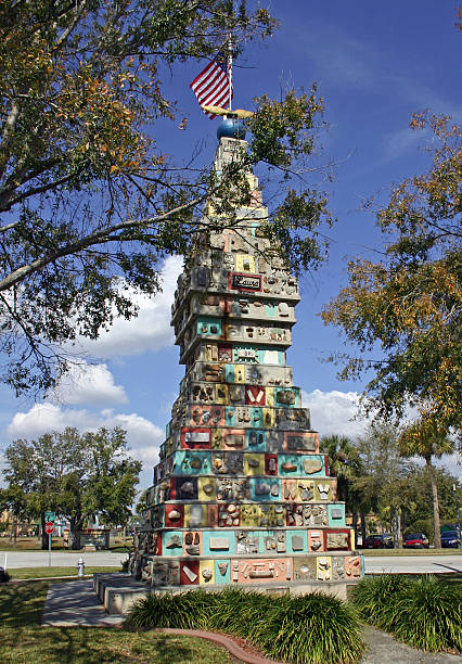 monument of the states kissimmee florida - kissimmee stock photos and pictures