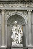istock Monument of the writer Franz Grillparzer Volksgarten Vienna Austria 1153837669