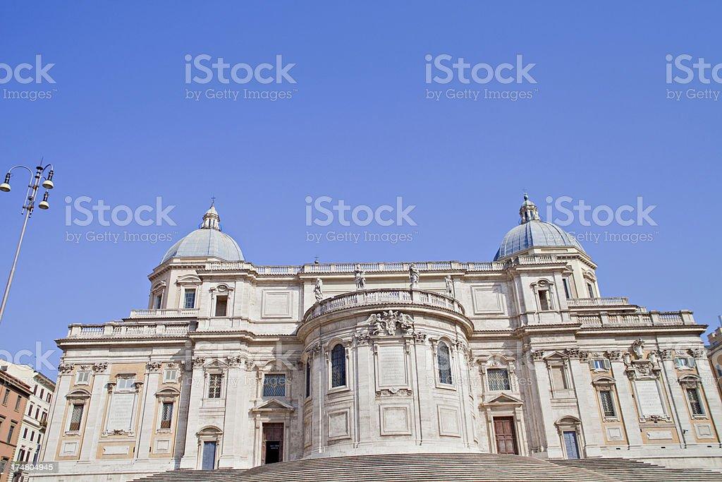 Monument of Vittorio Emanuele II royalty-free stock photo