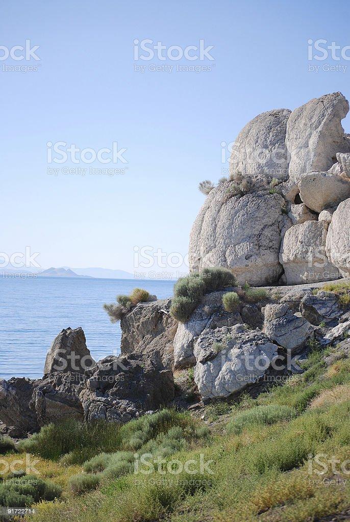Monument Rock stock photo