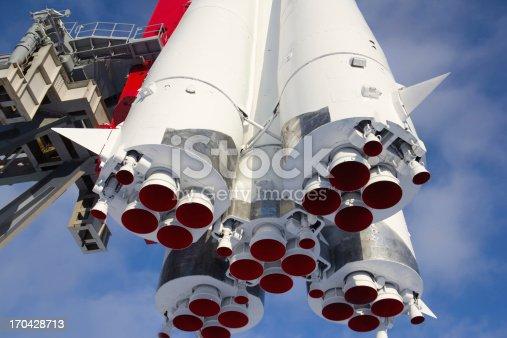 Monument space transport rocket