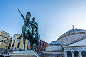 istock Monument to Charles VII in Naples, Italy 1311448886