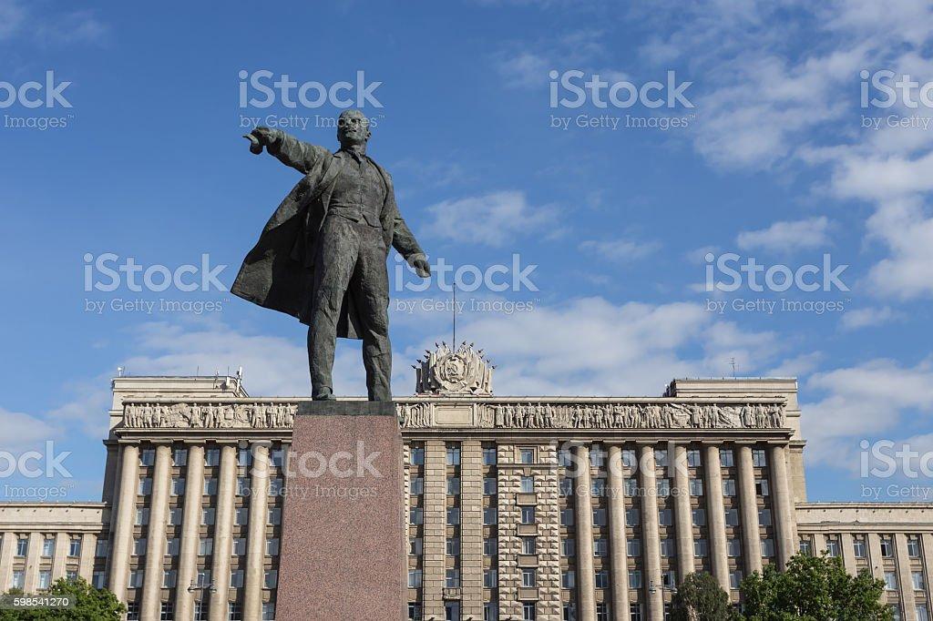 Monument de Lénine photo libre de droits