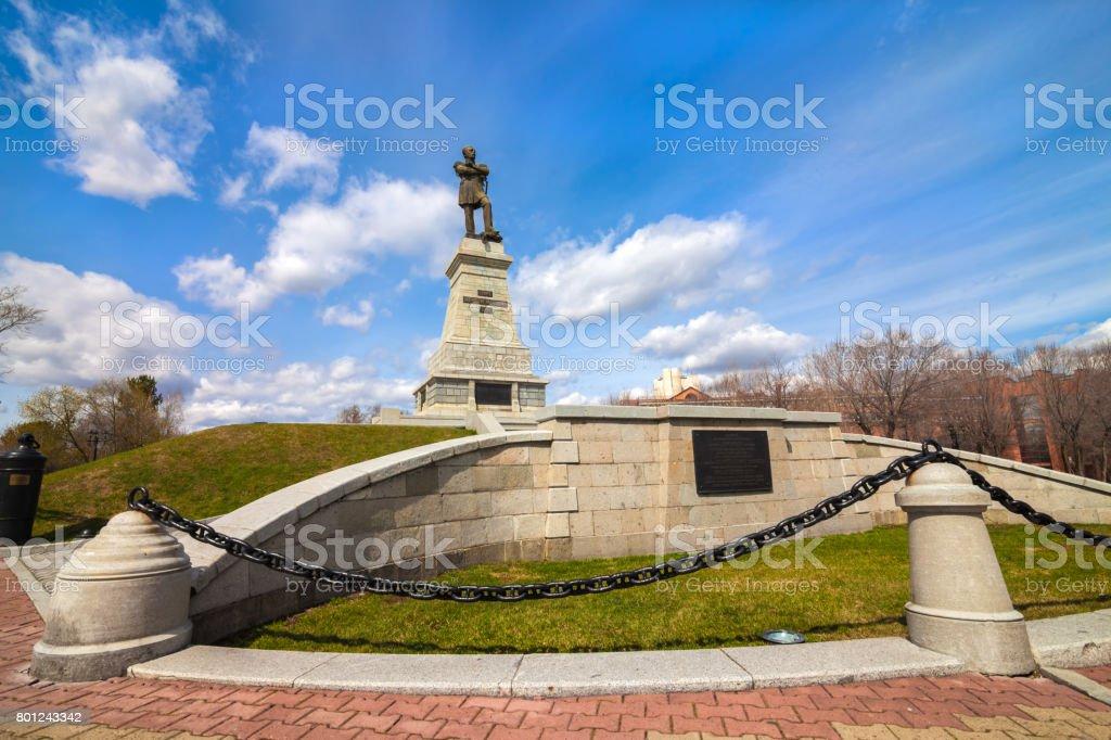 Denkmal für verschlechterte-Amursky in Chabarowsk – Foto
