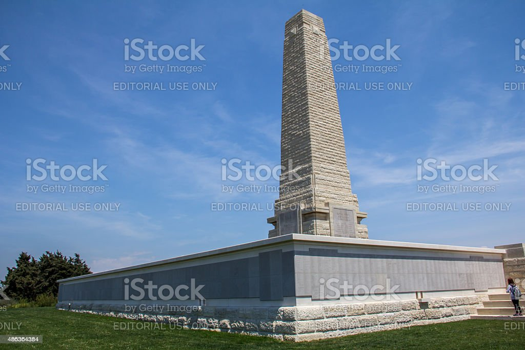 Monument to New Zealand Troops stock photo