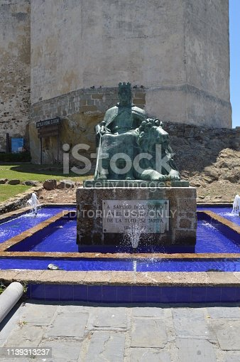 istock Monument To Sancho IV The Bravo In The VII Centenary Of The Taking Of Rate. 1139313237