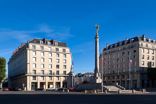 Monument To The Fallen Of The Great War In Caen Stock Photo - Download Image Now
