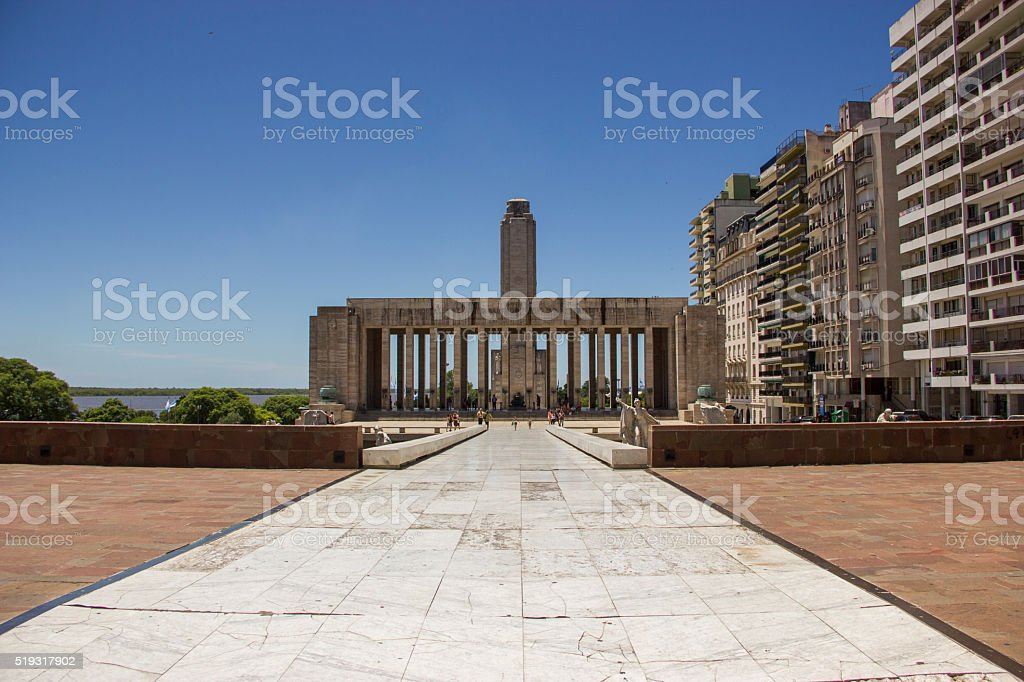 Monument to the flag , Argentina stock photo