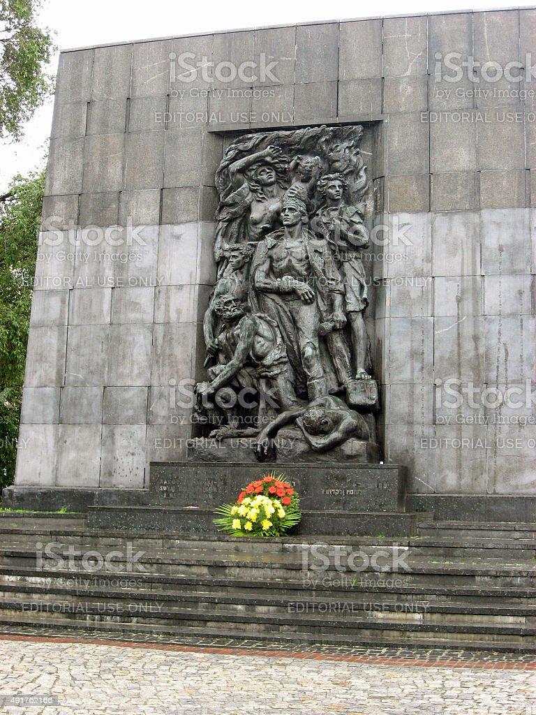 英雄記念碑ゲットー - 2015年のロイヤリティフリーストックフォト