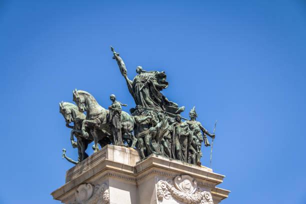 独立公園 (パルケ ダ インデペンデンシア) ipiranga - ブラジル ・ サンパウロでブラジル (インデペンデンシアはブラジルの記念碑) の独立の記念碑 - 独立 ストックフォトと画像