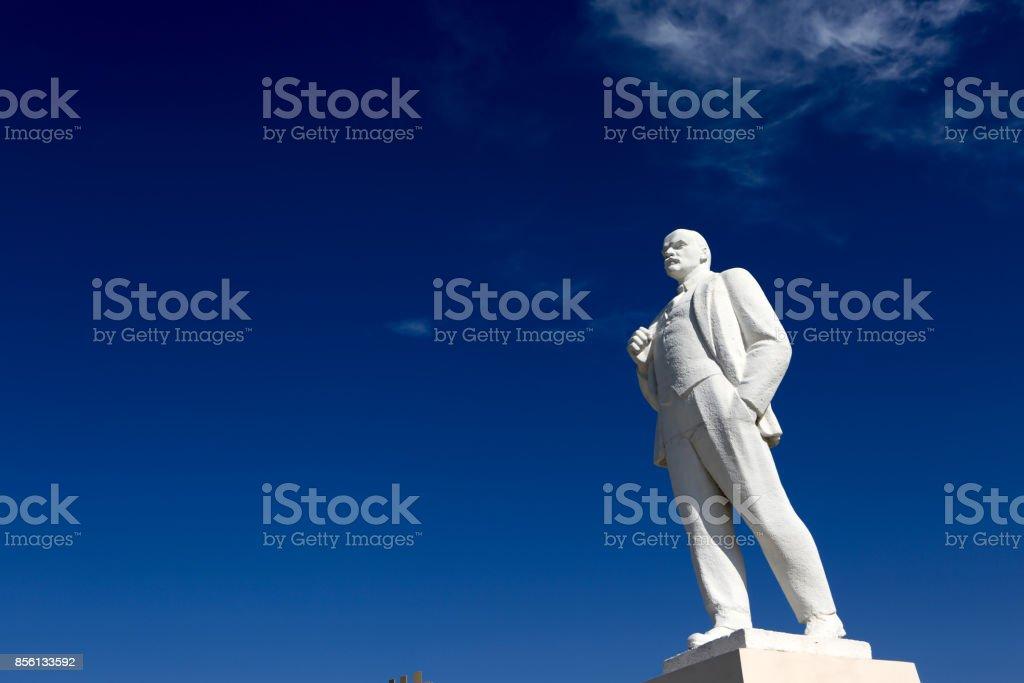Monument to Vladimir Lenin royalty-free stock photo
