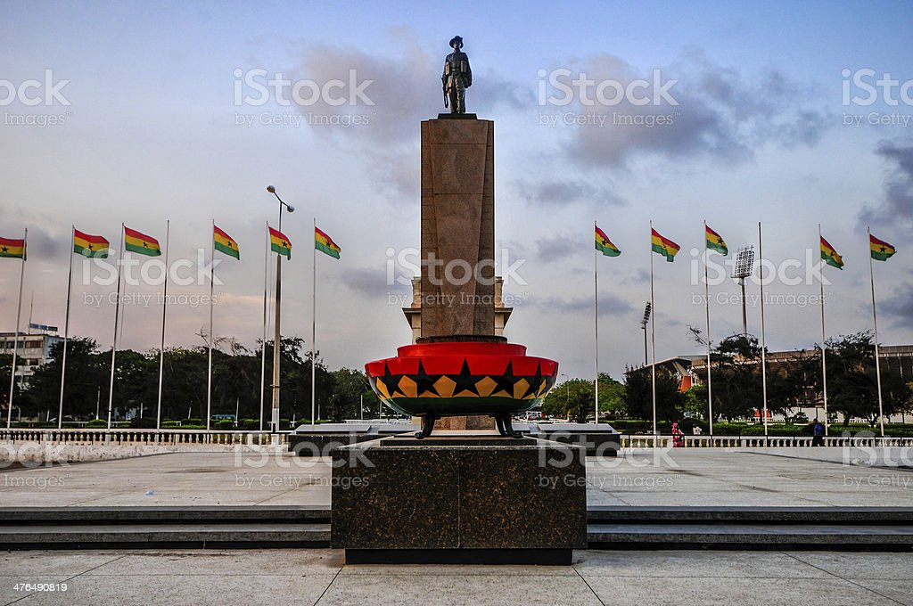 Monument & Tomb for Unknown Soldier stock photo
