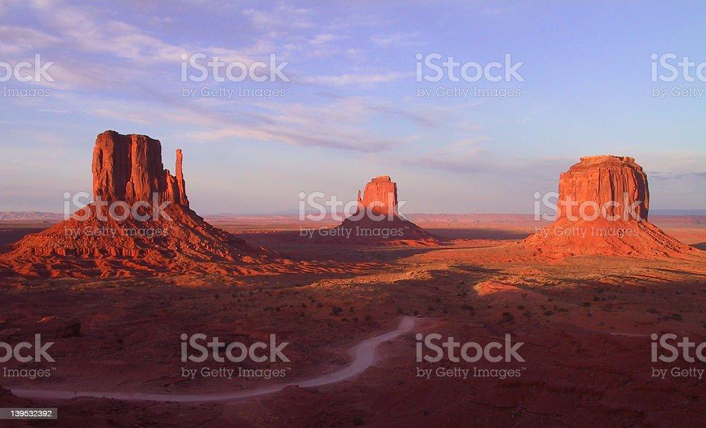 Monument Valley, Arizona royalty-free stock photo