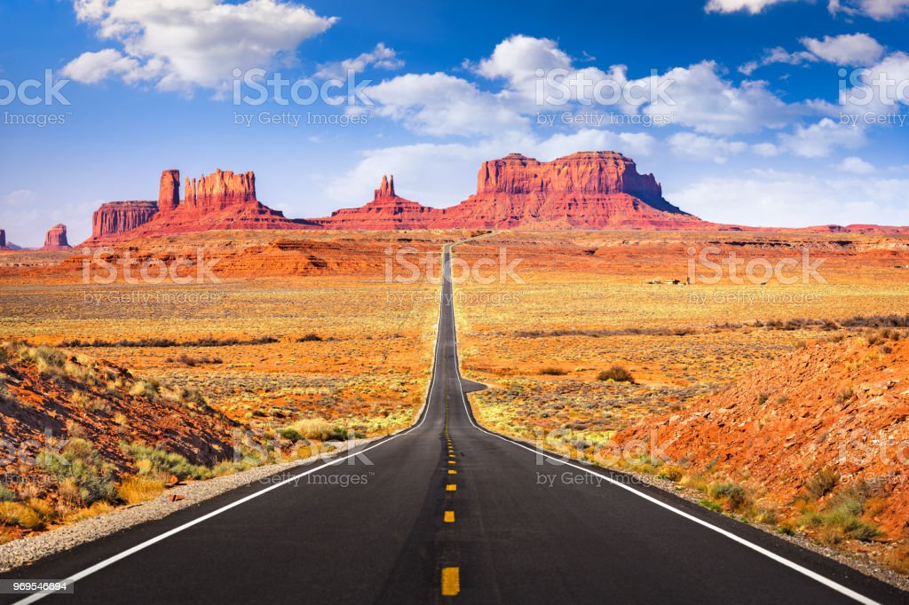 Monument Valley, Arizona, USA royalty-free stock photo