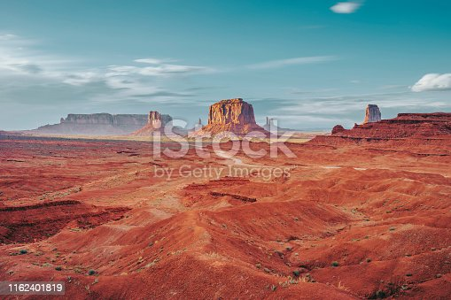 istock Monument Valley during a sunny day 1162401819