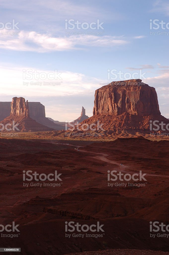 Monument Valley from another perspective. royalty-free stock photo