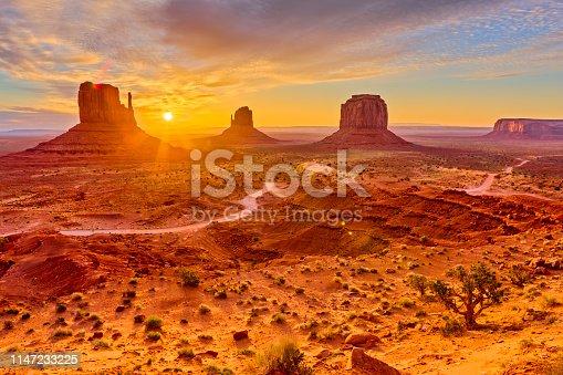 istock Monument Valley in Arizona 1147233225