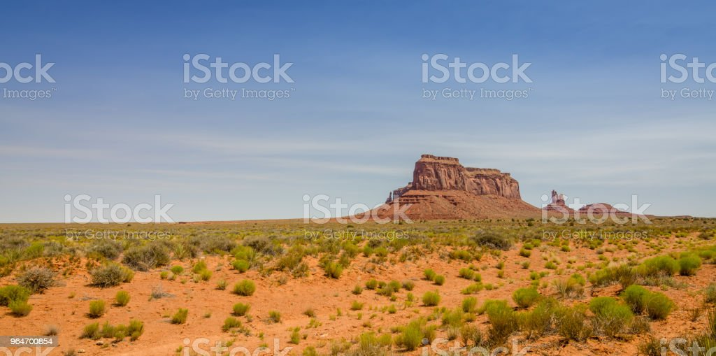 Monument Valley in Utah royalty-free stock photo