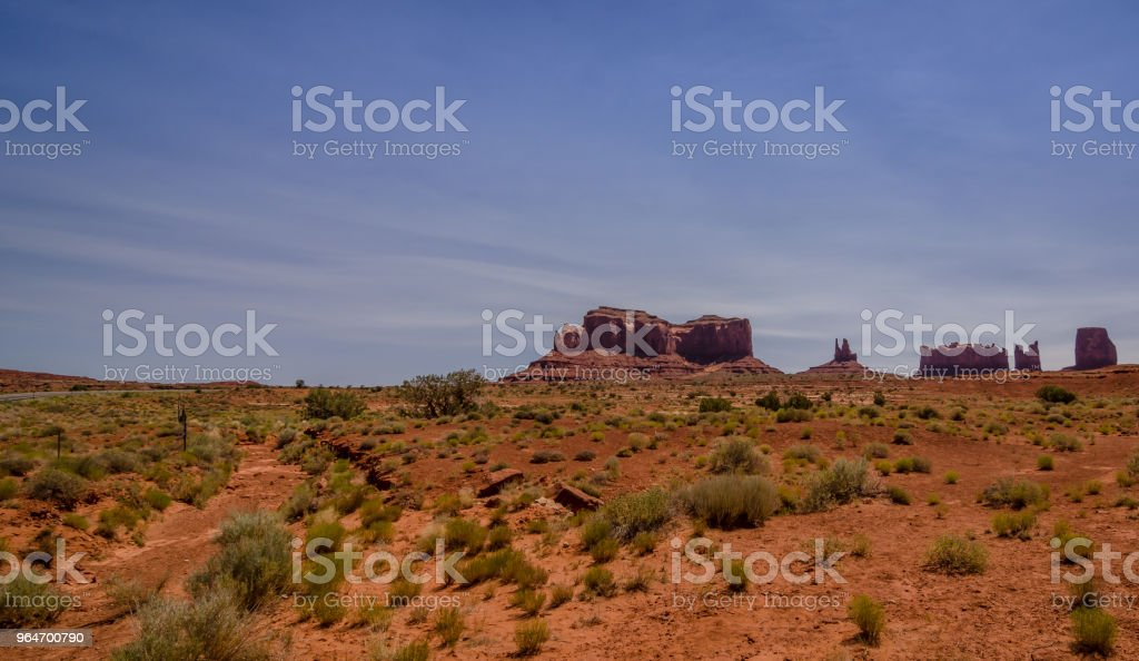 Monument Valley in Utah, USA royalty-free stock photo