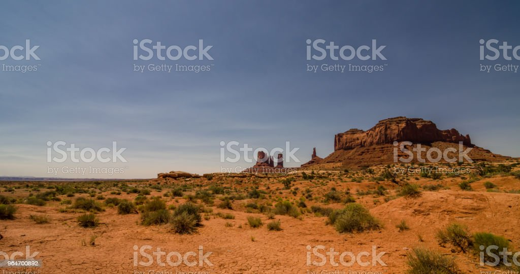 Monument Valley in Utah, USA. royalty-free stock photo
