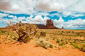 istock Monument Valley landscape 1282096994