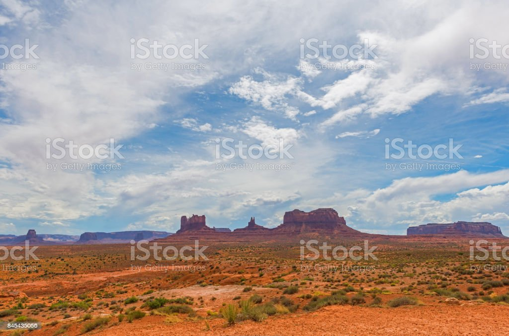 Monument Valley Landscape stock photo