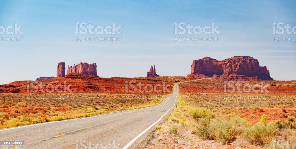 monument valley landscape utah usa stock photo
