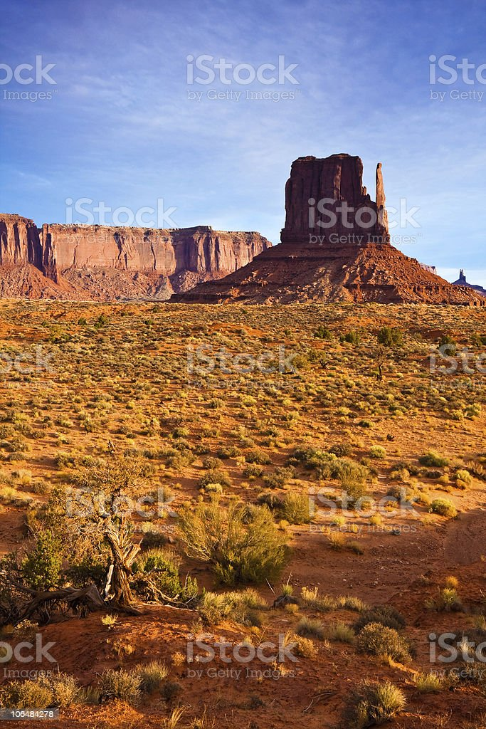 Monument Valley Morning royalty-free stock photo