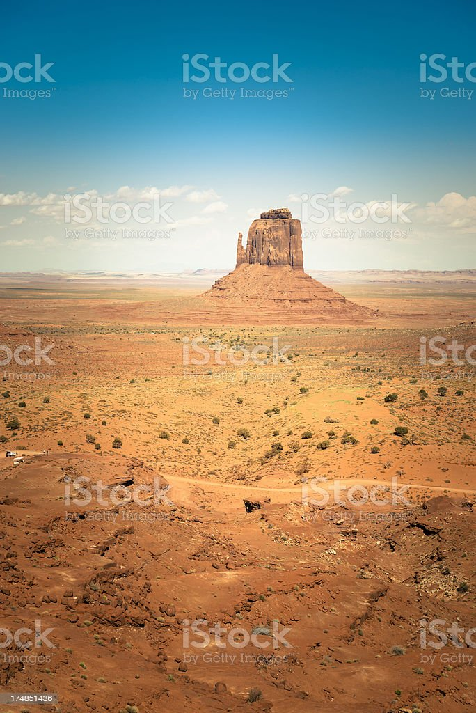 Monument valley National park desert royalty-free stock photo