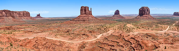 Monument Valley National Park Landscape stock photo