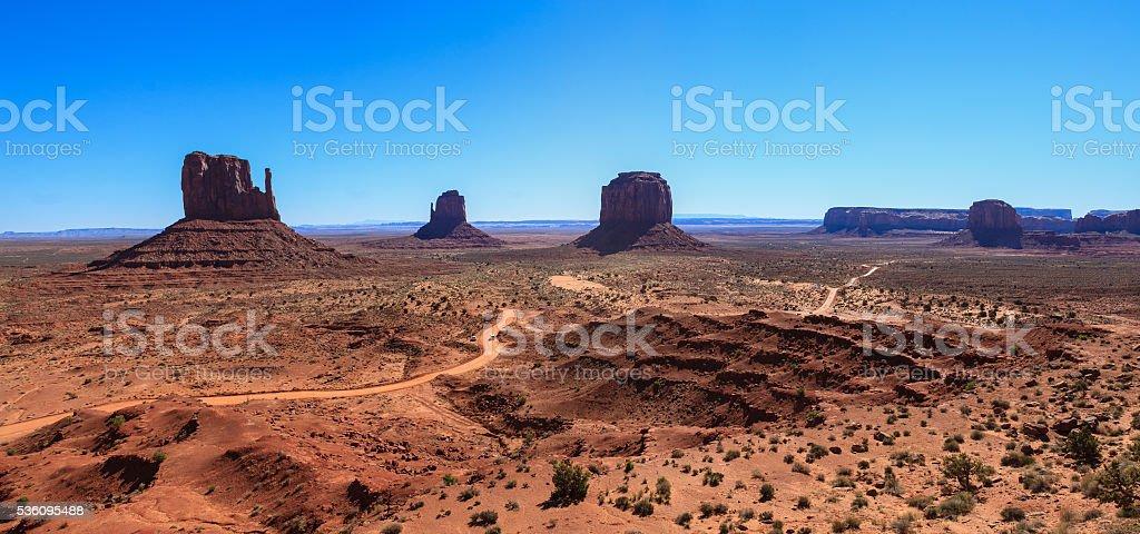 Amazing Daytime Image of Monument Valley