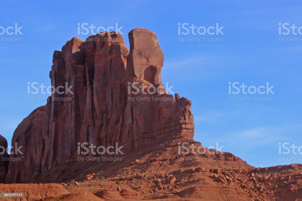 Monument Valley - Native American Store stock photo