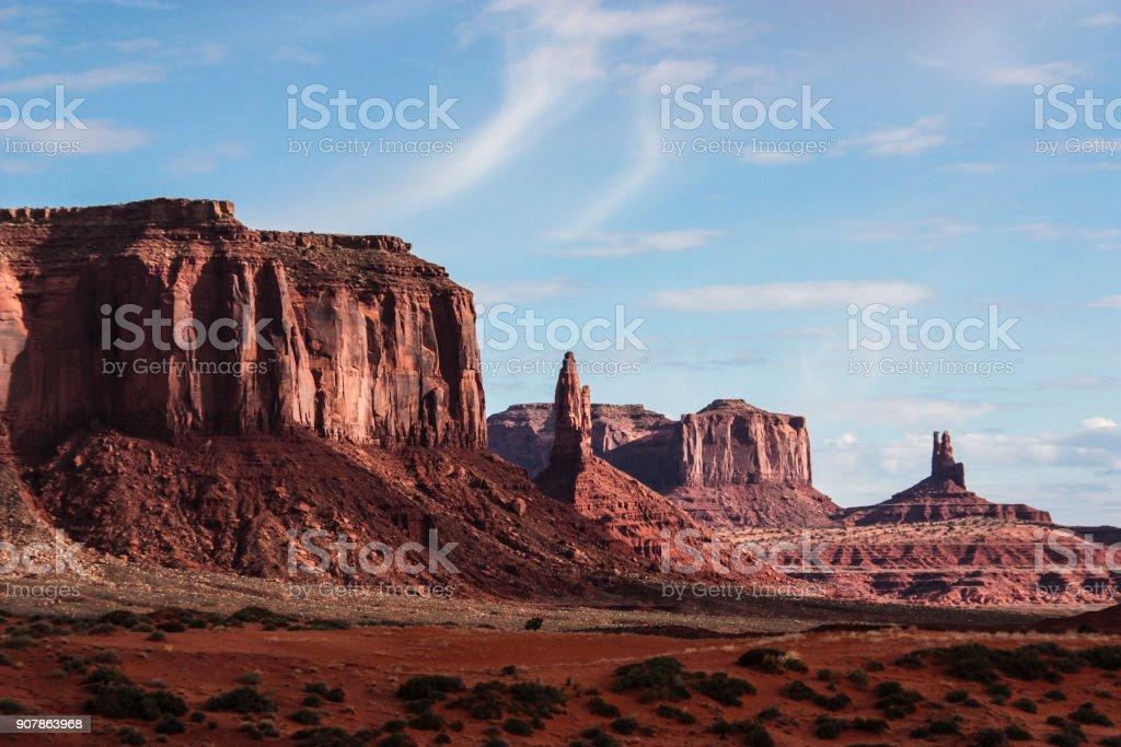 Monument Valley Navajo National Park stock photo