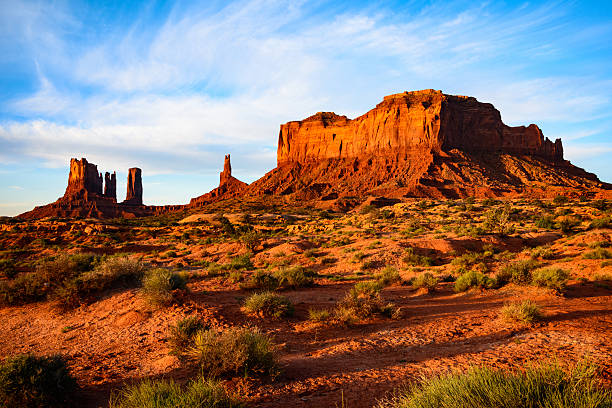 monument valley navajo tribal park - south stock photos and pictures