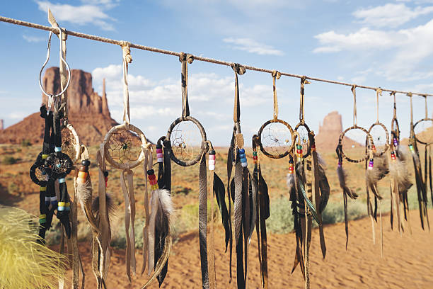 monument valley navajo tribal park - navajo culture stock photos and pictures