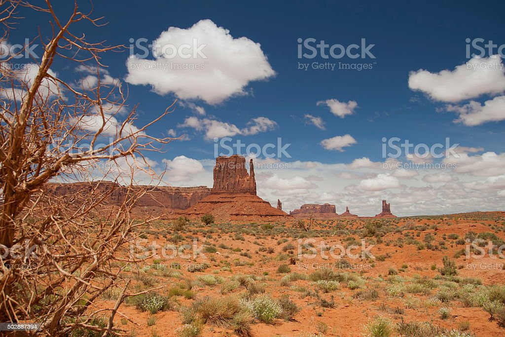 Monument Valley Blick vom Visitor Center – Foto