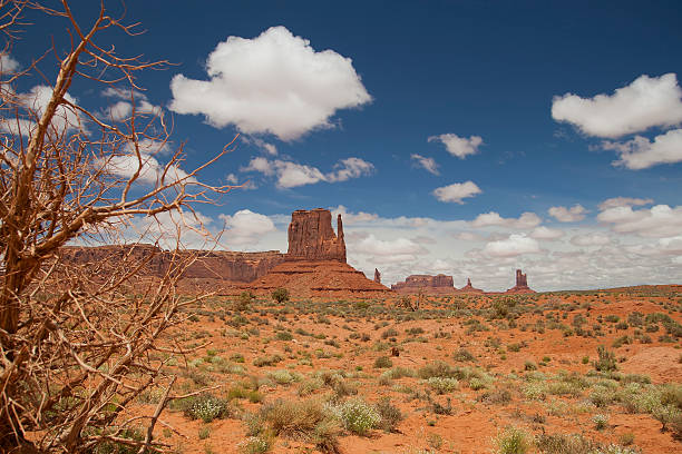 Monument Valley Blick vom Visitor Center – Foto